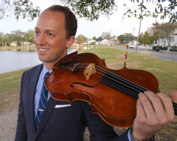 Luke Fleming, Founding Artistic Director and Violist